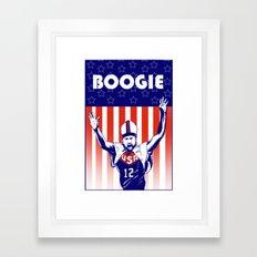 Pope Boogie Cousins USA Framed Art Print