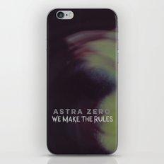 We Make the Rules iPhone & iPod Skin