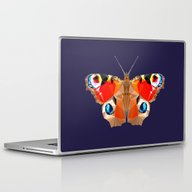 Geometric Butterfly Laptop & iPad Skin
