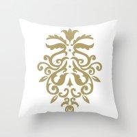 out ornamental Throw Pillow