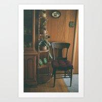 Grandma's House III Art Print