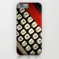iPhone & iPod Case featuring Typewriter by Mauricio Santana
