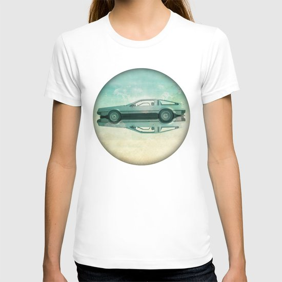 Siamese  Delorean T-shirt