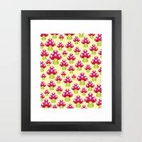 Honguitos Framed Art Print