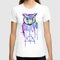 Hedwig Womens Fitted Tee White SMALL