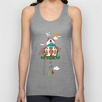 Cuckoo Mouse House Unisex Tank Top