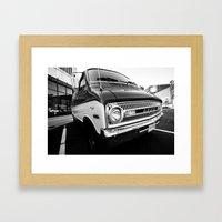 Vintage Van Framed Art Print