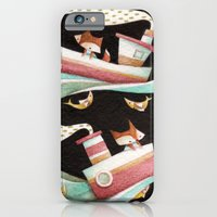 iPhone & iPod Case featuring Guided By Fishes by Chopsticksroad.