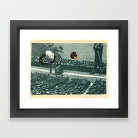 Cutters Football in Moscow Print Framed Art Print