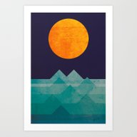 The Ocean, The Sea, The … Art Print