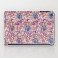 Peacock Swirl - Multi iPad Case