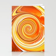 Citrus Burst Stationery Cards