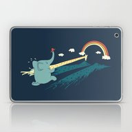 Laptop & iPad Skin featuring Pole Vault by Ilovedoodle