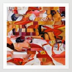 Spooning De Kooning (Pro… Art Print