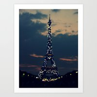 Beacon (Eiffel Tower) Art Print