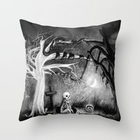 Rest In Expectation Throw Pillow