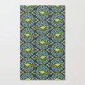 Flowers & Roos Canvas Print