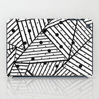 Abstract Spots Close Up iPad Case