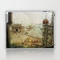 Taj Mahal Palace hotel and the Gateway of India monument, Mumbai, India Laptop & iPad Skin