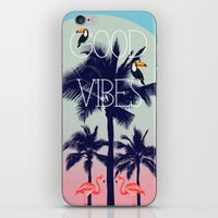 GOOD VIBe iPhone & iPod Skin