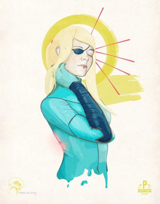(Sam)us Aran Paulsen Art Print