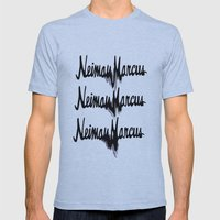 NM drips Mens Fitted Tee Athletic Blue SMALL