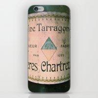 Chartreuse Green Liqueur Fabriquee par Les Peres Chartreux iPhone & iPod Skin