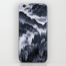 Misty Forest Mountains iPhone & iPod Skin