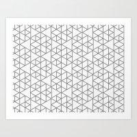 Karthuizer Grey & White … Art Print