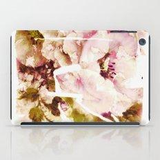 slashed floral iPad Case