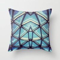 sym7 Throw Pillow