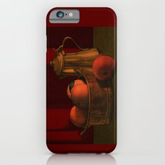Still life with peaches iPhone 6 Slim Case