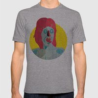 Tongue 02 Mens Fitted Tee Athletic Grey SMALL