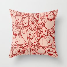 #MoleskineDaily_53 Throw Pillow