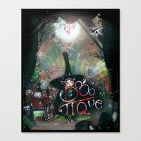 BOOO-tique! Canvas Print