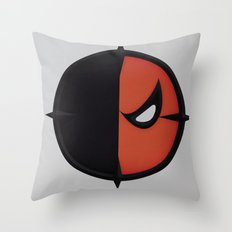 Slade Wilson Throw Pillow