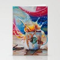 Coffee Splash! Stationery Cards