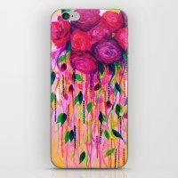 ROSES ARE RAD 2- Bold Pi… iPhone & iPod Skin