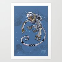 Astro Zodiac Force 09: M… Art Print