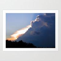 Clouds No.2   -  Sunset Art Print