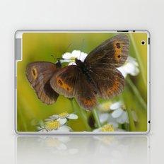 Summery Butterflies on Gold Laptop & iPad Skin