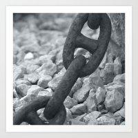 Chains Art Print