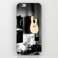 ART STUDIO - GUITAR iPhone & iPod Skin
