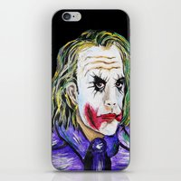 Gotham is Mine - Heath Ledger as The Joker iPhone & iPod Skin