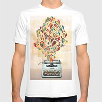 Our Secret Language Mens Fitted Tee White SMALL