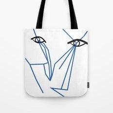 Eyes looking  Tote Bag