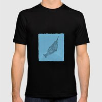 Banananarwahl  Mens Fitted Tee Black SMALL