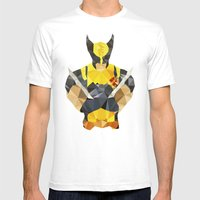 Polygon Heroes - Wolveri… Mens Fitted Tee White SMALL