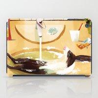 Relaxed Rabbit iPad Case