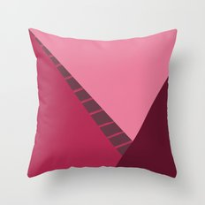 Cherry Abstract Throw Pillow